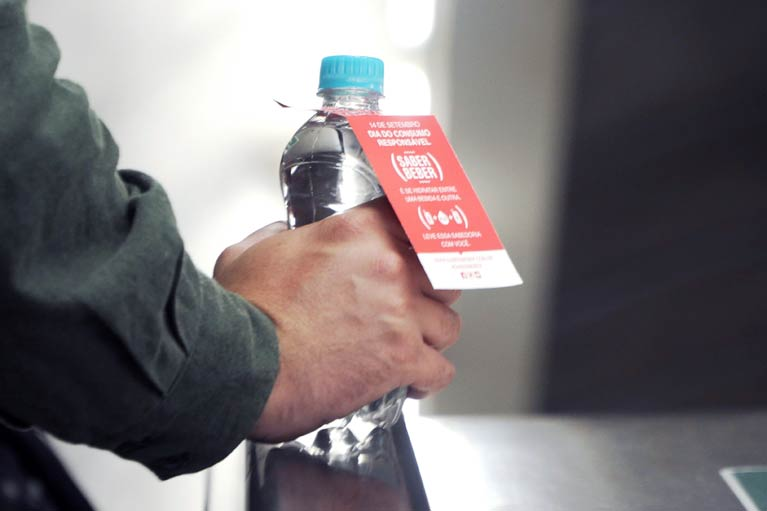 Estação Consolação terá distribuição de água nesta sexta-feira