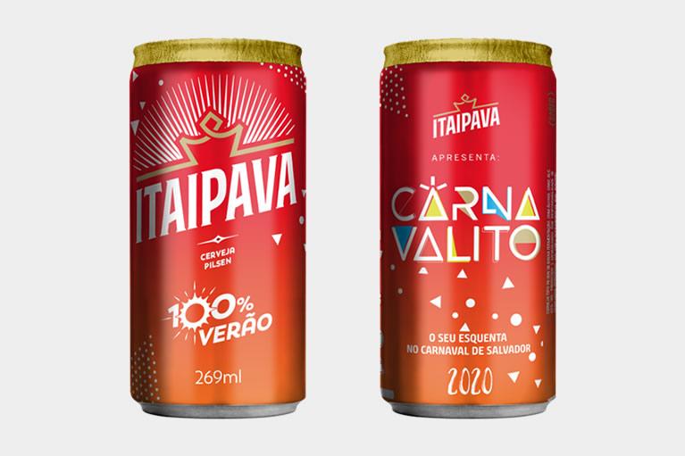 Itaipava lança lata comemorativa para o Carnaval da Bahia