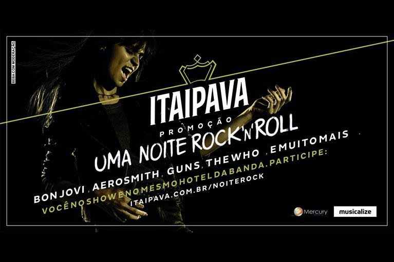 Uma Noite de Rock'n Rol com Itaipava