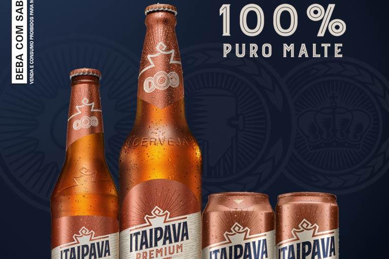 Grupo Petrópolis lança Itaipava Premium Puro Malte