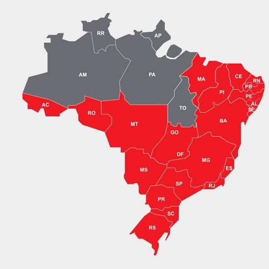 Áreas de Atuação do Grupo Petrópolis