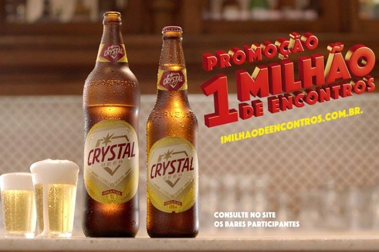 Crystal faz campanha e promoção para impulsionar utilização de retornáveis