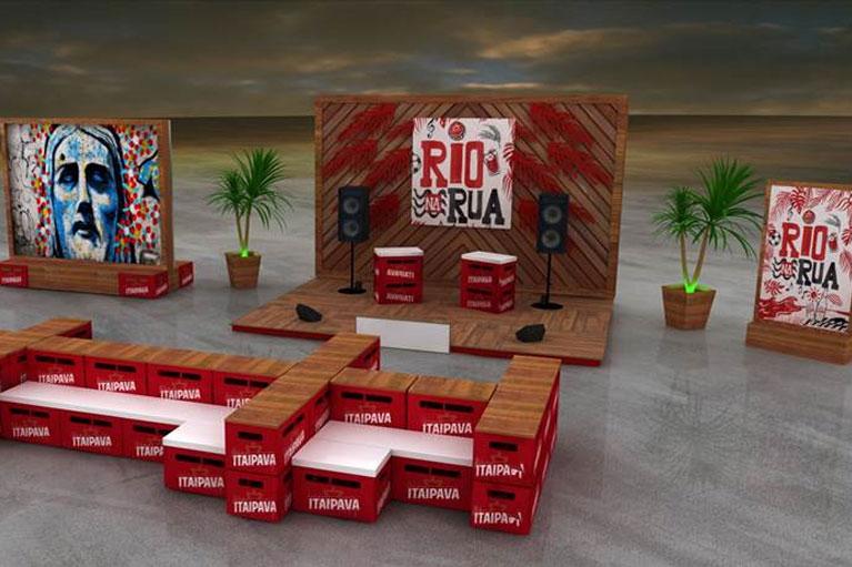 Itaipava promove Rio na Rua