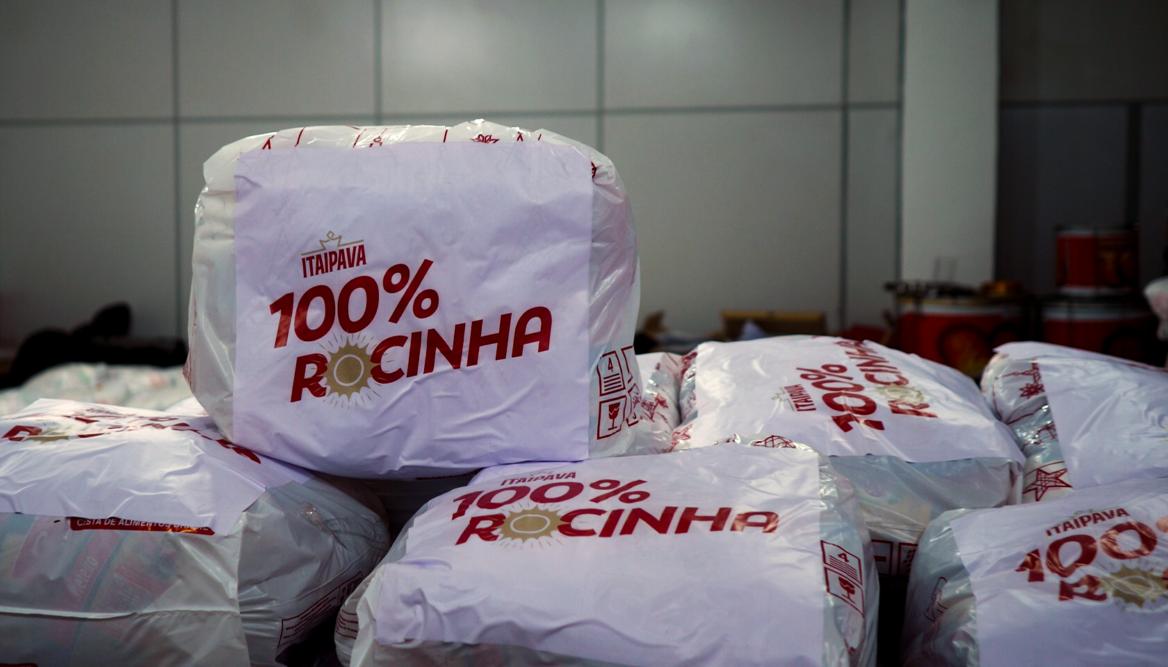 GRUPO PETRÓPOLIS LANÇA PROJETO 100% ROCINHA, NO RIO DE JANEIRO